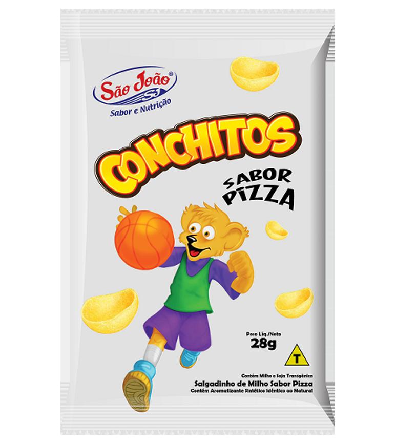 salgadinho de milho sabor pizza